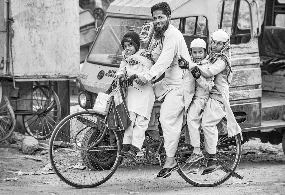 Jaipur - Streetscene 24 mono
