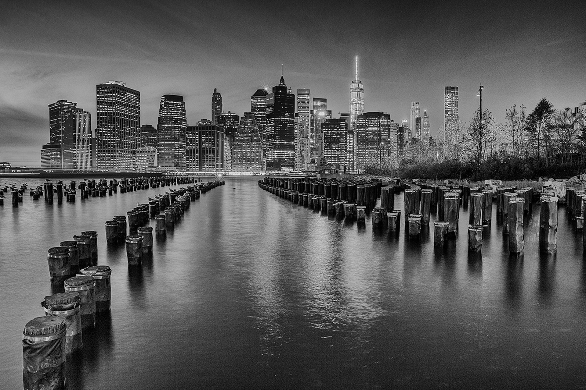 Manhattan from Brooklyn Heights