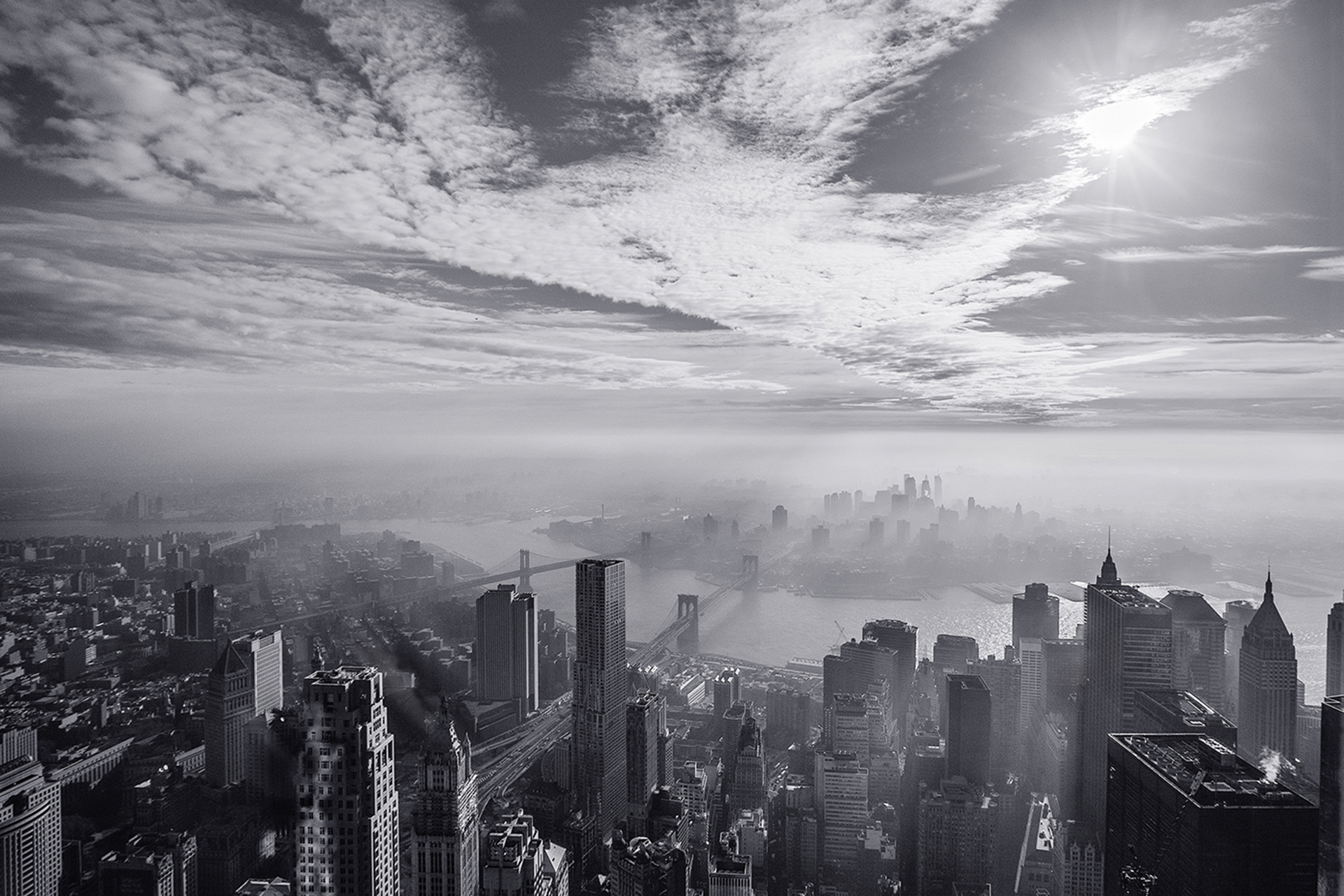 Brooklyn from One World Trade Center