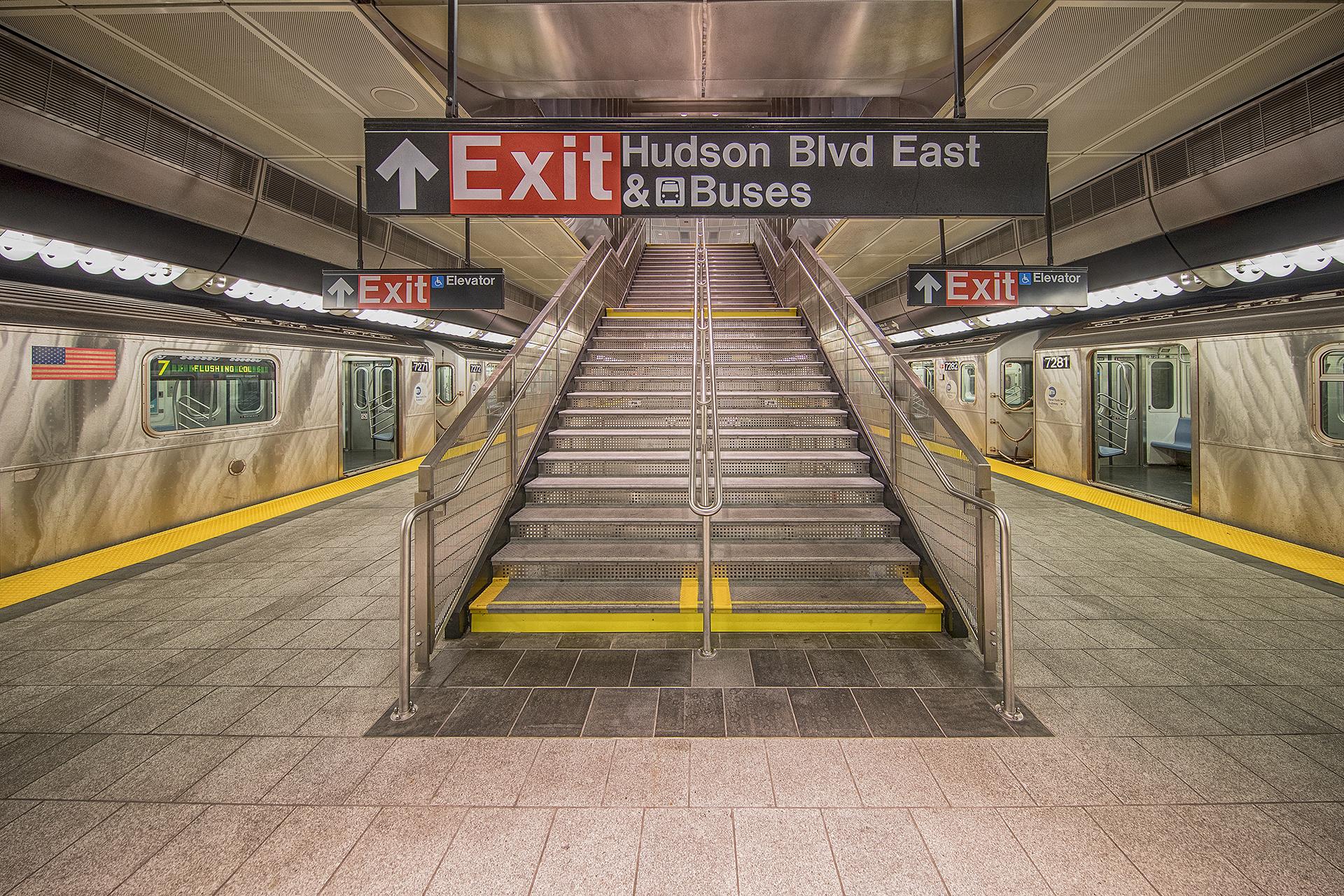 Hudson Boulevard Subway, New York